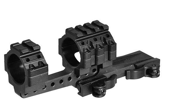 UTG Ø30mm Offset Schnellspannmontage mit breiten Picatinny-Aufsatz