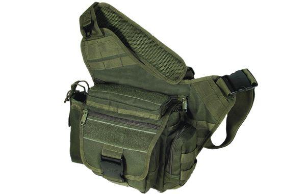 UTG Tactical Messenger Bag, Oliv