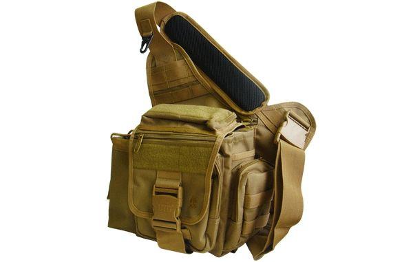 UTG Tactical Messenger Bag, Dark Earth