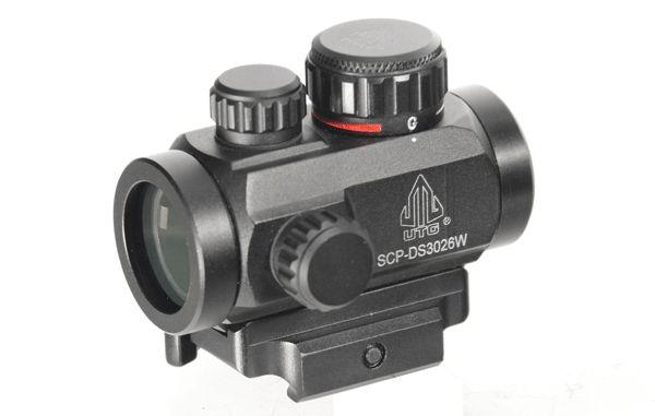 UTG Reflexvisier mit Micro Dot in Rot/Grün