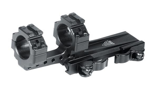 UTG Ø25,4mm Offset Schnellspannmontage mit Picatinny-Aufbau
