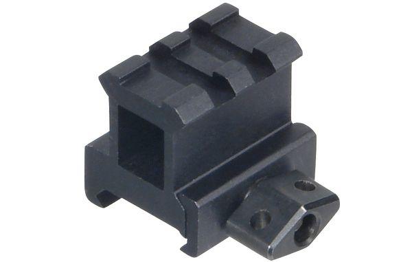 UTG 2 Nuten QD Picatinny Montageerhöhung, BH 25,4mm