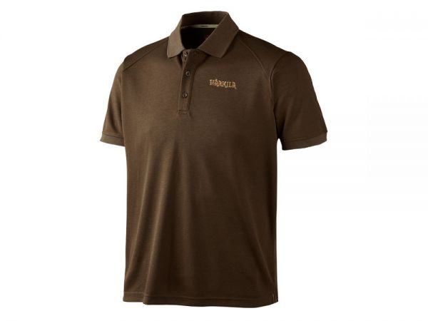 Härkila Gerit Poloshirt Demitasse brown