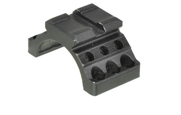 UTG Ø30mm Montagering Oberteil mit Picatinny Schiene, RB 22mm