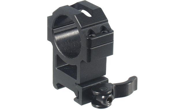 UTG Ø30mm Schnellspannmontageringe, BH 22mm, RB 22mm