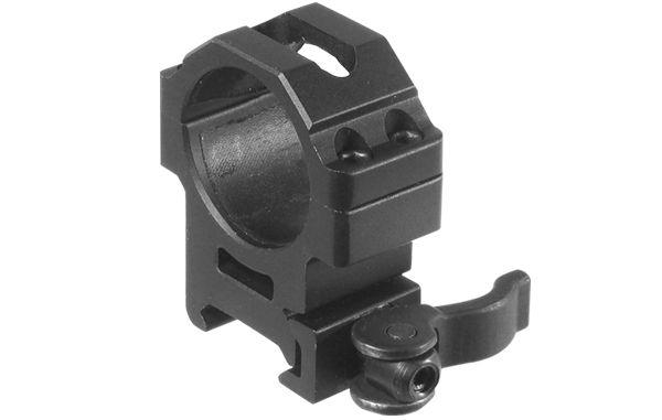 UTG Ø30mm Schnellspannmontageringe, BH 15mm, RB 22mm
