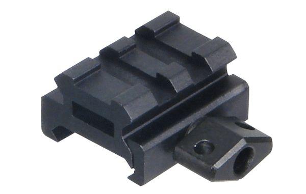 UTG 2 Nuten QD Picatinny Montageerhöhung, BH 12,7mm