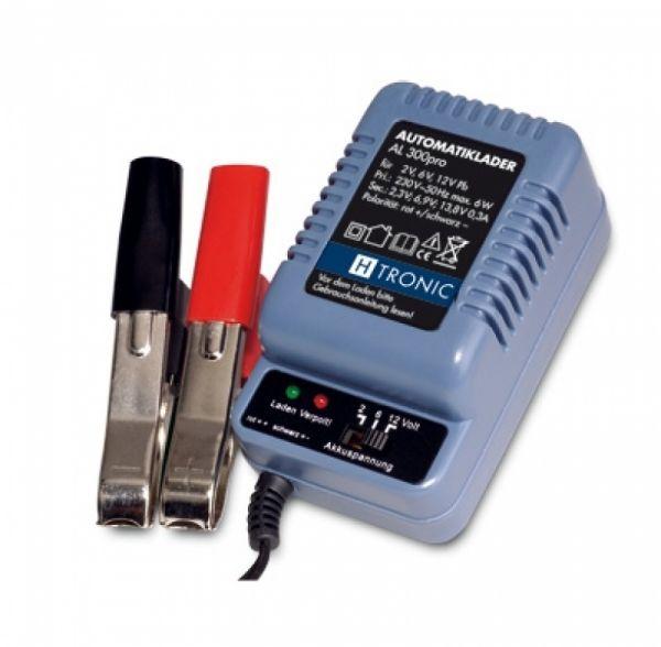 H-Tronic Bleiladegerät AL 300 Pro Automatiklader Fresh für 2V, 6V, 12V