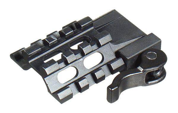 UTG 3 Slot Tri Rail Winkelschnellspannmontage