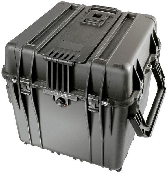 PELI Mod. 0340 Kubus schwarz mit Würfelschaumstoff