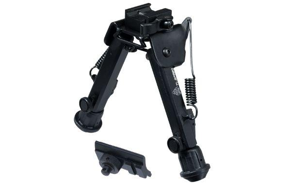 UTG Super Duty QD Zweibein, Höhe 140-203mm