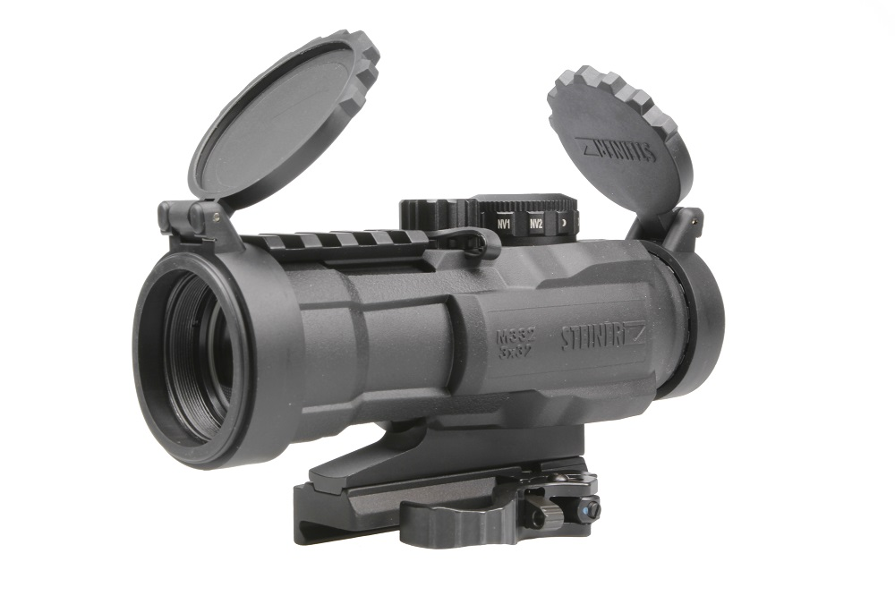 Steiner Zielfernrohr Mit Entfernungsmesser : Steiner military battle optic sight bos m kal
