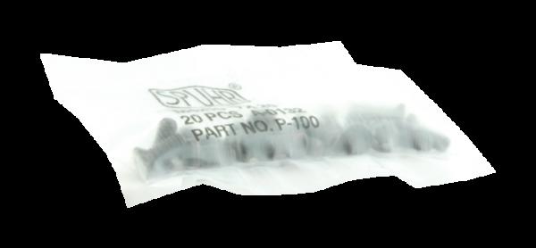 Spuhr Schrauben für Ringoberteil M4x10 TX20 P-100