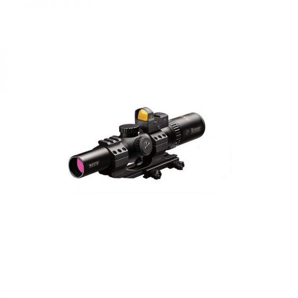 Burris MTAC 1-4x24mm Ballistic CQ + FastFire III