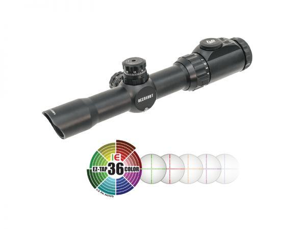 UTG 1-8x28 CQB-Jagd Zielfernrohr Mil-Dot