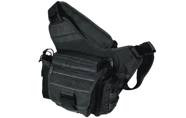 UTG Tactical Messenger Bag, Schwarz