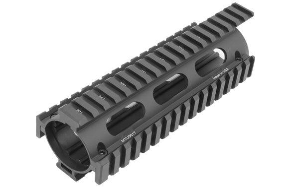 UTG PRO AR-15 Quad Rail Handschutz m. Verlängerung